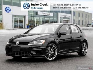 Used 2019 Volkswagen Golf R 5-Dr 2.0T 4MOTION 6sp for sale in Orleans, ON