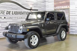 Used 2016 Jeep Wrangler Sport+a/c+2toits+mag for sale in Laval, QC