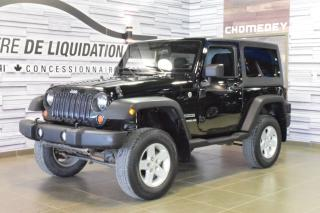 Used 2012 Jeep Wrangler SPORT for sale in Laval, QC