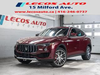 Used 2017 Maserati Levante S Accident free Balance do factory Warranty for sale in North York, ON