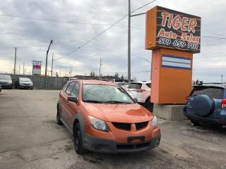 Used 2004 Pontiac Vibe RUNS AND DRIVES GREAT**GOOD ON FUEL**AS IS SPECIA for sale in London, ON