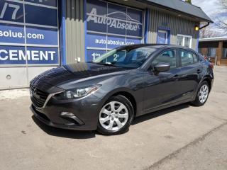Used 2015 Mazda MAZDA3 Gx + A/c + Bluetooth for sale in Boisbriand, QC