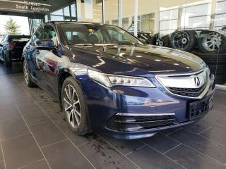 Used 2015 Acura TLX TECH, HEATED SEATS/STEERING, SUNROOF, ACCIDENT FREE for sale in Edmonton, AB