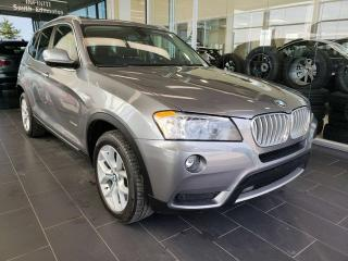 Used 2014 BMW X3 28I, HEATED SEATS, SUNROOF for sale in Edmonton, AB