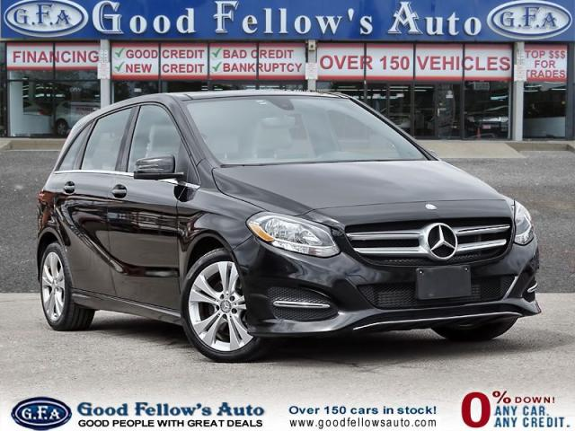 2015 Mercedes-Benz B250 PREMIUM PKG, LEATHER SEATS, BLIND SPOT MONITORING