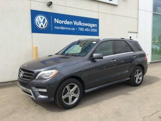 Used 2015 Mercedes-Benz ML-Class ML 350 BlueTEC 4MATIC AWD for sale in Edmonton, AB