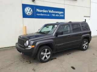 Used 2016 Jeep Patriot HIGH ALTITUDE 4WD for sale in Edmonton, AB
