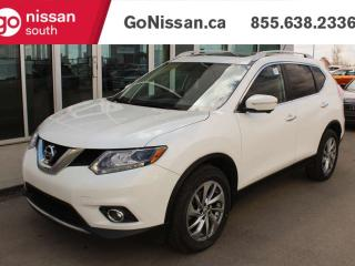 Used 2014 Nissan Rogue SL AWD WITH NAVIGATION FULL LEATHER AND PANORAMIC ROOF for sale in Edmonton, AB