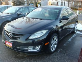 Used 2009 Mazda MAZDA6 2.5L Sunroof/Leather for sale in Ajax, ON