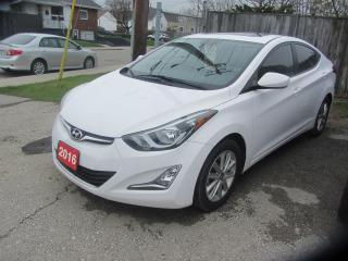 Used 2016 Hyundai Elantra Sport Appearance for sale in Hamilton, ON