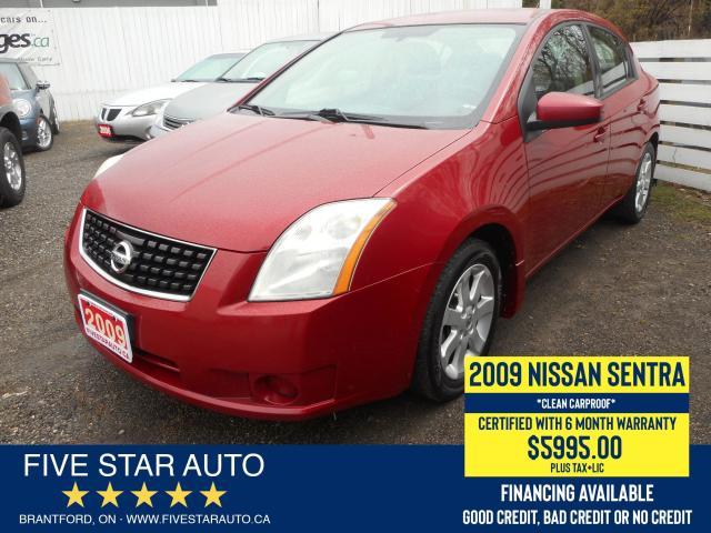 2009 Nissan Sentra 2.0 *Clean Carproof* Certified w/ 6 Month Warranty