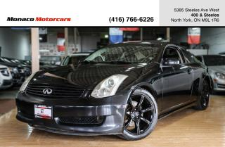 Used 2007 Infiniti G35 RWD - NAVI|SUNROOF|HTD SEATS|2xRIMS&TIRES for sale in North York, ON