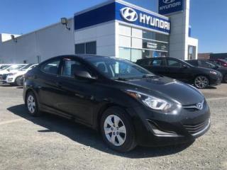 Used 2016 Hyundai Elantra 4 portes L manuel for sale in Matane, QC