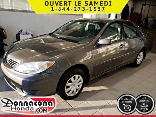 Used 2006 Toyota Camry LE *CRUISE CONTROL*AIR CLIMATISE* for sale in Donnacona, QC