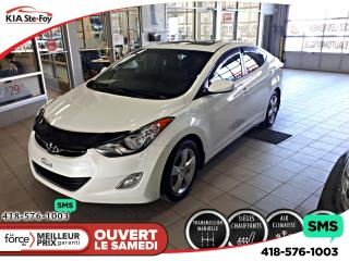 Used 2012 Hyundai Elantra Gls T.ouvrant for sale in Québec, QC