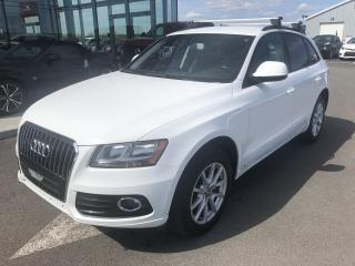 Used 2013 Audi Q5 TURBO, AWD, CUIR, for sale in Lévis, QC