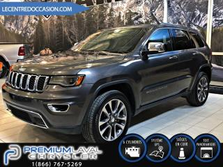 Used 2018 Jeep Grand Cherokee LIMITED*CUIR/TOIT PAN/NAV/4X4* for sale in Laval, QC