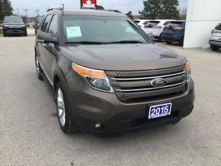 Used 2015 Ford Explorer Limited | 4WD | One Owner | Navigation for sale in Harriston, ON