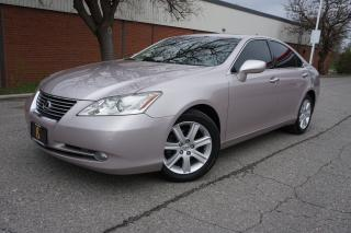 Used 2008 Lexus ES 350 NAVIGATION / WELL MAINTAINED / ONTARIO CAR for sale in Etobicoke, ON