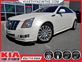 Used 2012 Cadillac CTS Coupé 2 portes Performance for sale in St-Hyacinthe, QC