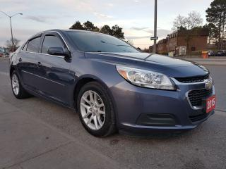 Used 2015 Chevrolet Malibu LT/Bk-Up Cam/ Bluetooth/ AUX/Fully Loaded/ALLOYS for sale in Scarborough, ON