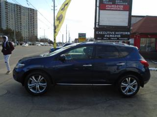 Used 2009 Nissan Murano LE/ RE CAM / NAV / PANO ROOF/ ALLOYS / PUSH START for sale in Scarborough, ON