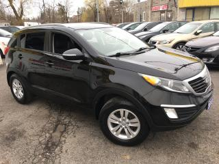 Used 2013 Kia Sportage LX/ PWR GROUP/ BLUETOOTH/ ALLOYS/ LOADED! for sale in Scarborough, ON