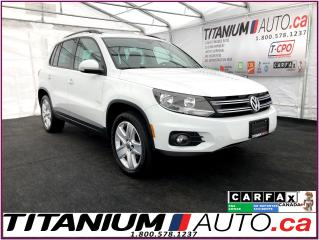 Used 2016 Volkswagen Tiguan COMFORTLINE+4Motion+Camera+Pano Roof+Leather+Apple for sale in London, ON