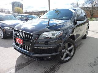 Used 2015 Audi Q7 S-LINE | TDI | Vorsprung Edition for sale in BRAMPTON, ON