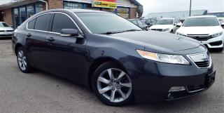 Used 2012 Acura TL w/Tech Pkg for sale in Brampton, ON