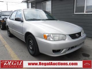 Used 2002 Toyota Corolla 4D Sedan for sale in Calgary, AB