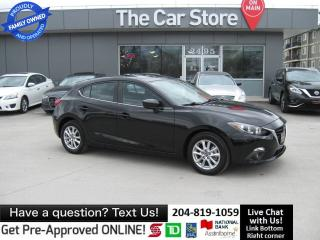 Used 2014 Mazda MAZDA3 GS-SKY back CAM BLUETOOTH htd seats SUNROOF for sale in Winnipeg, MB