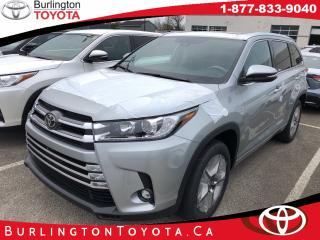 New 2019 Toyota Highlander LIMITED  for sale in Burlington, ON