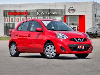 Used 2015 Nissan Micra SV SUPER FUN for sale in St. Catharines, ON