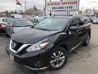 Used 2015 Nissan Murano SL AWD Navigation/Leather/Backup Camera/Power Trunk for sale in Mississauga, ON