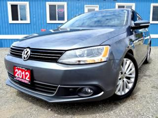 Used 2012 Volkswagen Jetta Highline Highline TDI Sunroof Leather Certified for sale in Guelph, ON
