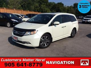Used 2015 Honda Odyssey Touring  TOURING W/RES & NAV for sale in St. Catharines, ON