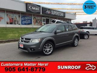 Used 2012 Dodge Journey SXT & Crew  SUNROOF ALLOYS SXT POWER GROUP for sale in St. Catharines, ON