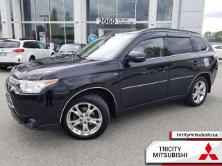Used 2014 Mitsubishi Outlander GT  NAVI-SUNROOF-HEATED LEATHER for sale in Port Coquitlam, BC