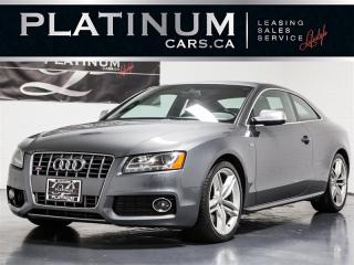 Used 2012 Audi S5 4.2 QUATTRO, NAVI, PANO, Premium for sale in Toronto, ON