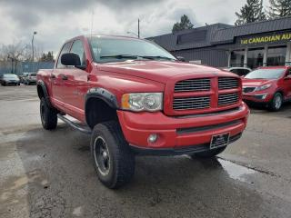 Used 2004 Dodge Ram 1500 SLT-LIFTED-EXHAUST-4X4-MUST SEE!! for sale in Edmonton, AB