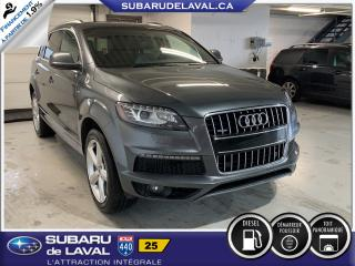 Used 2015 Audi Q7 3.0L TDI Vorsprung Edition Quattro for sale in Laval, QC