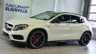 Used 2017 Mercedes-Benz GLA GLA 45 AMG 4MATIC for sale in Blainville, QC