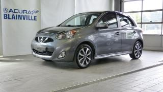 Used 2016 Nissan Micra SR à hayon 4 portes for sale in Blainville, QC