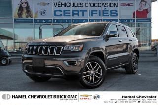 Used 2018 Jeep Grand Cherokee 4x4 Ltd Navigation for sale in St-Léonard, QC
