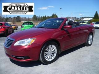 Used 2013 Chrysler 200 Touring Convertible for sale in East broughton, QC