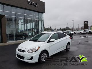 Used 2014 Hyundai Accent Gl, Bluetooth, A/c for sale in Chambly, QC