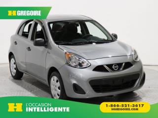Used 2015 Nissan Micra S for sale in St-Léonard, QC