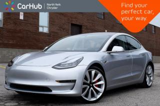 Used 2018 Tesla Model 3 Performance|Pano_Sunroof|GPS|Heat.Frnt.Seats|Backup.Cam| for sale in Thornhill, ON