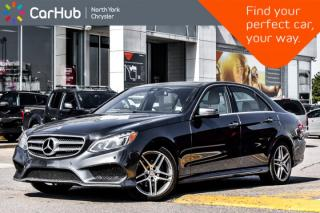 Used 2016 Mercedes-Benz E-Class E 400|AMG.Styling,Sport,Keyless.Go.Pkgs|Pano_Sunroof for sale in Thornhill, ON